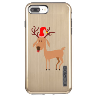 Reindeer Christmas Holidays Joy Incipio DualPro Shine iPhone 8 Plus/7 Plus Case