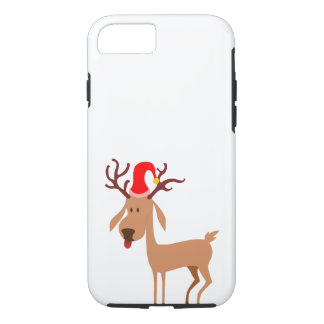 Reindeer Christmas Holidays Joy iPhone 8/7 Case