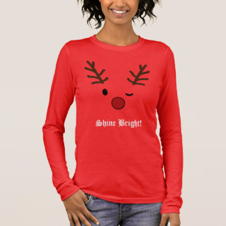 Reindeer Christmas Long Sleeve T-Shirt