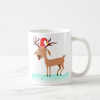 Reindeer Christmas Santa Mug