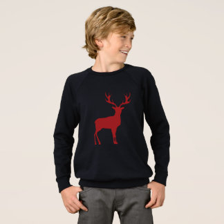 Reindeer Christmas Unisex Kids Sweatshirt