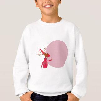 Reindeer cute animal xmas sweatshirt