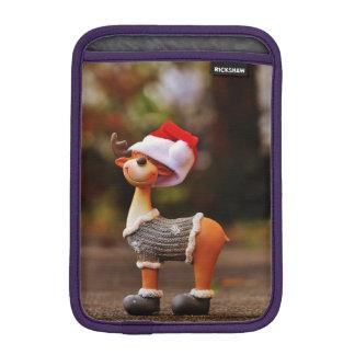 Reindeer decorations - christmas reindeer iPad mini sleeve