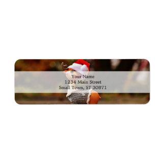 Reindeer decorations - christmas reindeer return address label