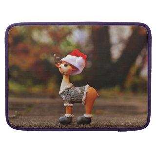 Reindeer decorations - christmas reindeer sleeve for MacBook pro