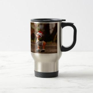 Reindeer decorations - christmas reindeer travel mug