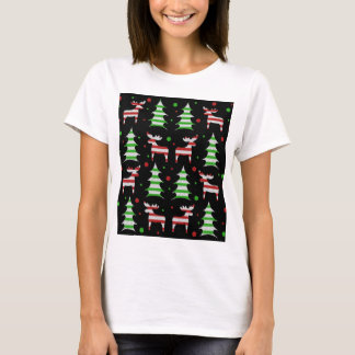 Reindeer decorative pattern T-Shirt