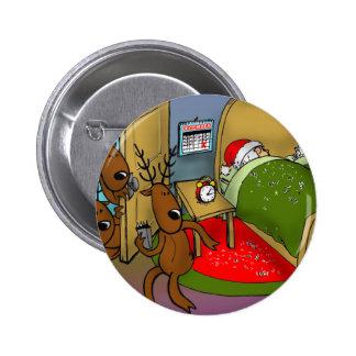 reindeer games 2 6 cm round badge