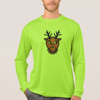 REINDEER HEAD AND TAIL by Slipperywindow T-Shirt