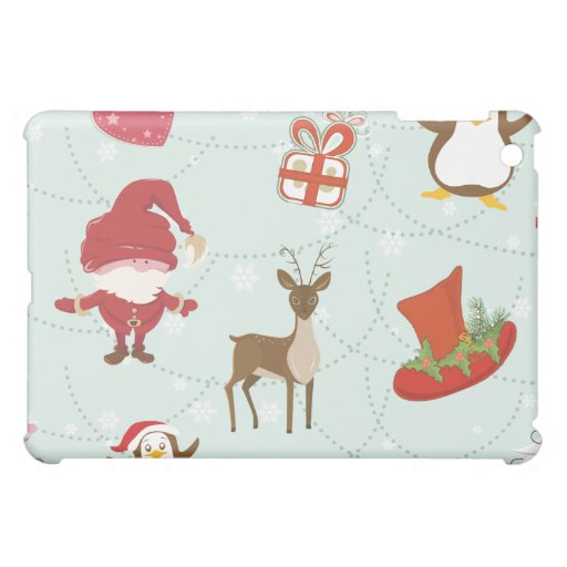 Reindeer Holiday Cover For The iPad Mini