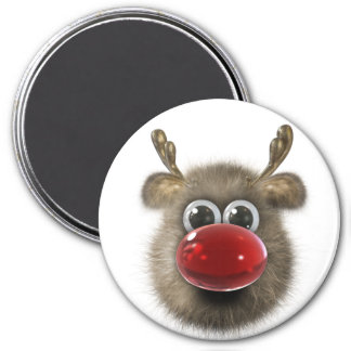 Reindeer Holiday Locker Magnets, Back to school Magnet