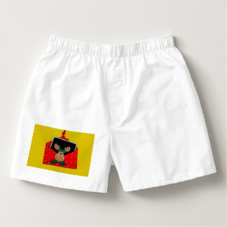 Reindeer in an envelope Christmas decoration Boxers