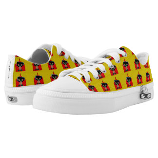 Reindeer in an envelope Christmas decoration Printed Shoes