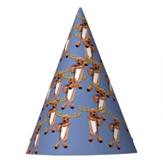 Reindeer Jazz Party Hat