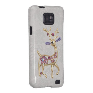 Reindeer Jewel & Paisley Lace Samsung Galaxy Case Galaxy S2 Cases