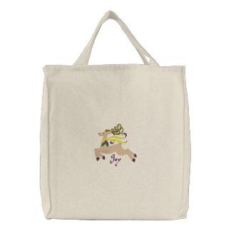 Reindeer  Joy Canvas Bag