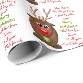 Reindeer Letter from Santa Christmas Xmas