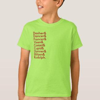 reindeer lists T-Shirt