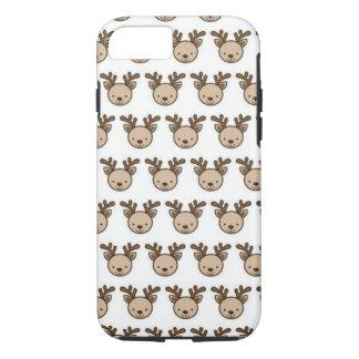 Reindeer Pattern iPhone 8/7 Phone Case