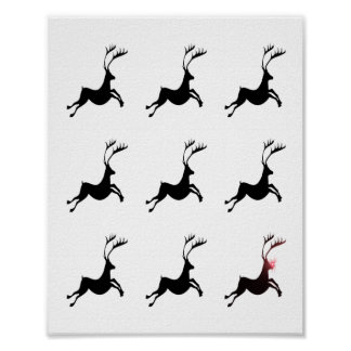 Reindeer Pattern print