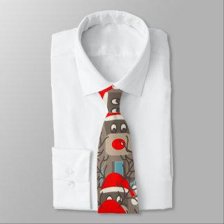 Reindeer Pattern Tie