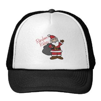 Reindeer Rider Mesh Hat