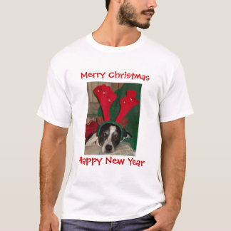 Reindeer Rio the Dog T-Shirt