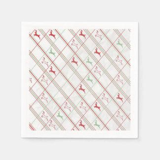 Reindeer Rise Christmas Party Paper Plates Disposable Serviette