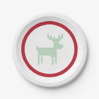 Reindeer Sweater Weather Plate