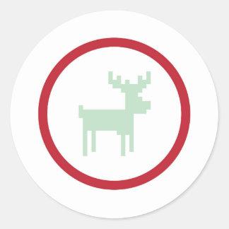 Reindeer Sweater Weather Sticker