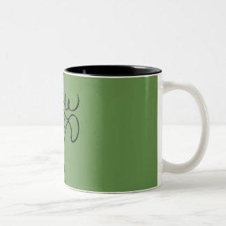 REINDEER Two-Tone COFFEE MUG