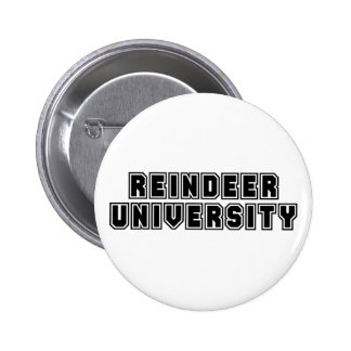 Reindeer University Button