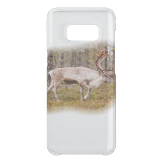 Reindeer walking in forest uncommon samsung galaxy s8 case