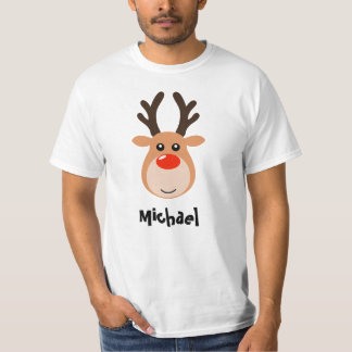 Reindeer with name Men's T-Shirt