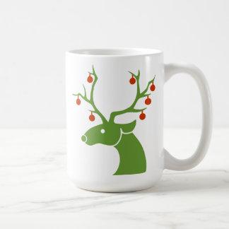 Reindeer with Ornaments Coffee Mug
