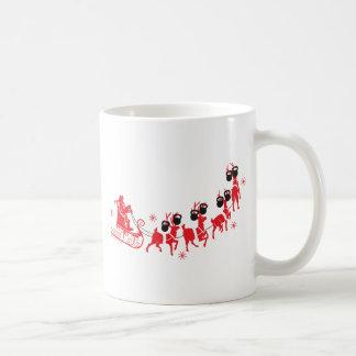 Reindeer Workout Coffee Mug