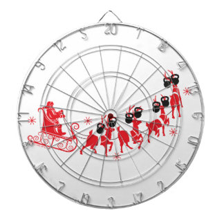 Reindeer Workout Dartboard