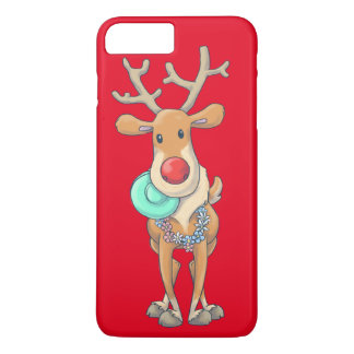 reindeer_xmas iPhone 8 plus/7 plus case