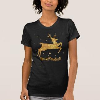 reindeere golden  stars T-Shirt
