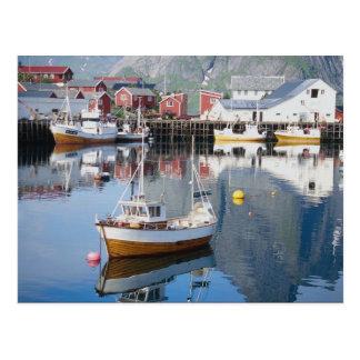 Reine fishing village, Lofoten, Norway Postcard
