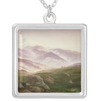 Reisenberg, The Mountains of the Giants, 1839 Silver Plated Necklace