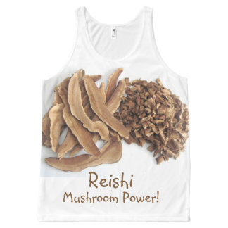 Reishi Mushroom Power All-Over Print Singlet