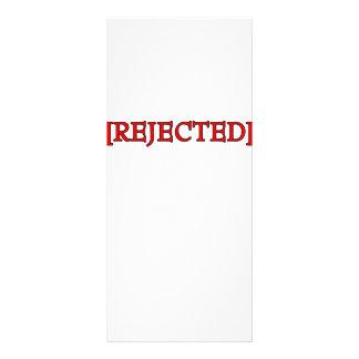 Rejected Custom Rack Cards