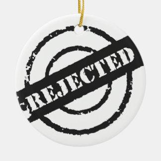 Rejected Round Ceramic Decoration