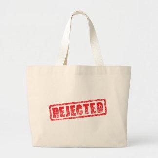 Rejected rubber stamp image bag
