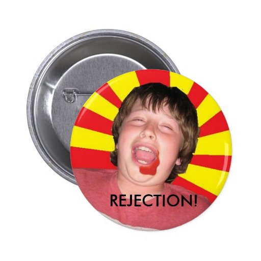 REJECTION Munchkin Button