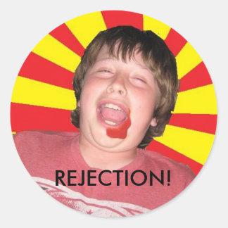 REJECTION! Munchkin Sticker