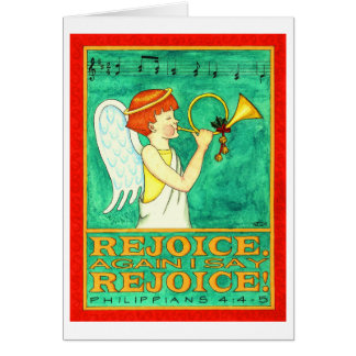 Rejoice Christmas Card
