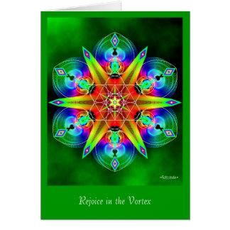 Rejoice in the Vortex Card