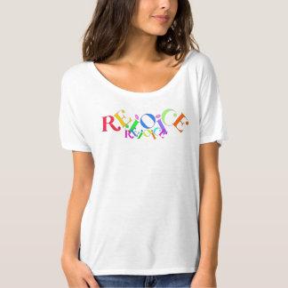 Rejoice Rejoice Simple T-shirt